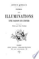 Poèmes : les illuminations : une saison en enfer /