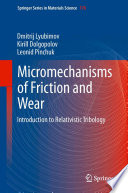 Micromechanisms of Friction and Wear