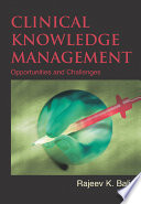 Clinical Knowledge Management