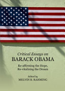 Critical Essays on Barack Obama