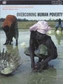 Overcoming Human Poverty