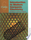 Introduction to Modern Inorganic Chemistry  6th edition