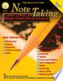 Note Taking, Grades 4 - 8