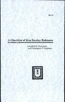 A Checklist of Kim Stanley Robinson