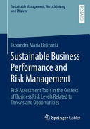 Sustainable Business Performance and Risk Management