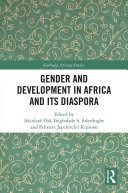 Pdf Gender and Development in Africa and Its Diaspora Telecharger