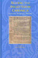 Reading the Anglo Saxon Chronicle