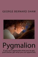 Pygmalion Book PDF