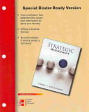 Loose Leaf for Strategic Management  Concepts and Cases