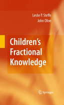 Pdf Children's Fractional Knowledge