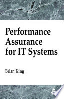 Performance Assurance For It Systems Book PDF
