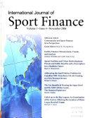 International Journal of Sport Finance