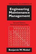 Engineering Maintenance Management Pdf/ePub eBook