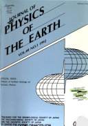 Journal of Physics of the Earth