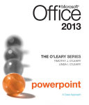 The O'Leary Series: Microsoft Office Excel 2013
