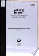 Subliminal Terror?