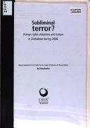 Subliminal Terror