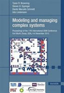Modeling and Managing Complex Systems Book