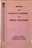 Report on Incentive Schemes in Indian Industries