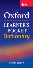 Cover of Oxford Learner'S Pocket English Dictionary,4E