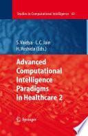 Advanced Computational Intelligence Paradigms in Healthcare   2