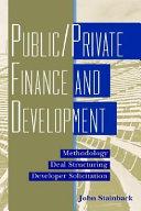 Public   Private Finance and Development