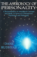 The Astrology of Personality Book