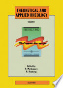 Theoretical And Applied Rheology Book PDF