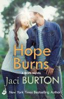 Hope Burns  Hope Book 3