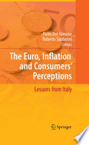 The Euro  Inflation and Consumers  Perceptions Book