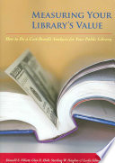 Measuring Your Library S Value Book PDF