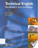 Technical English Vocabular And Grammar