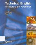 Technical English Vocabular and Grammar Pdf/ePub eBook