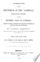 Narrative of the Shipwreck of the  Admella   Inter colonial Steamer  on the Southern Coast of Australia