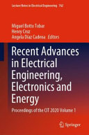 Recent Advances in Electrical Engineering  Electronics and Energy