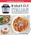 Instant Pot Italian Book