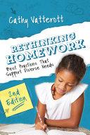 Rethinking Homework [Pdf/ePub] eBook