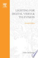 Lighting for Digital Video and Television Book