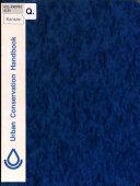 Kansas Urban Conservation Handbook Book