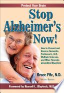 Stop Alzheimer s Now