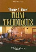 Trial Techniques Book