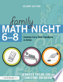 Family Math Night 6 8