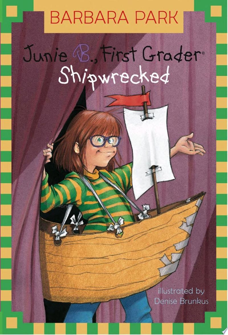 Junie B. Jones #23: Shipwrecked banner backdrop