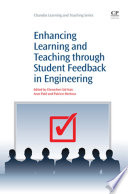 Enhancing Learning And Teaching Through Student Feedback In Engineering Book PDF