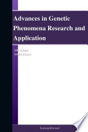 Advances In Genetic Phenomena Research And Application 2012 Edition Book PDF