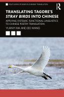 Translating Tagore's Stray Birds into Chinese Pdf/ePub eBook