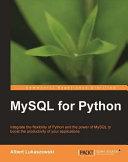 Pdf MySQL for Python Telecharger