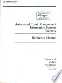 Automated court management information systems directory