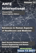 Advances in Human Aspects of Healthcare