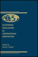 Electronic Disclosure in International Arbitration